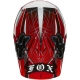 FOX MX V3 STEEL FAITH ROUGE NO