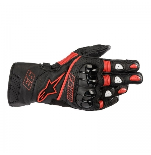 GANTS ALPINESTARS TWIN RING NOIR / ROUGE M93