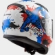 CASQUE LS2 FF353 RAPID MONSTER BLANC / BLEU / ROUGE