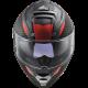CASQUE LS2 FF800 STORM RACER TITANIUM FLUO ORANGE