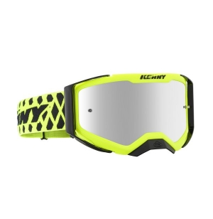 MASQUE KENNY PERFORMANCE LEVEL 2 NEON YELLOW