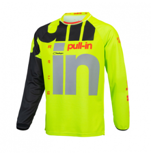 MAILLOT ENFANT PULL-IN RACE LIME 2021