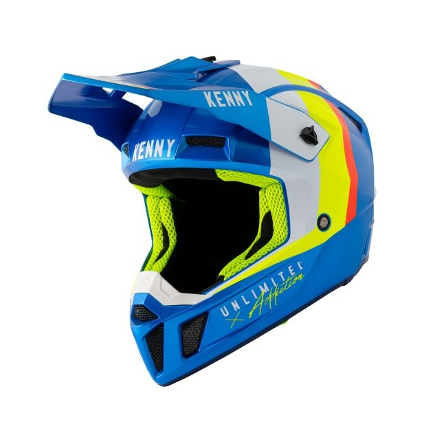 CASQUE KENNY PERFORMANCE CANDY BLUE 2021