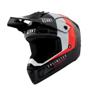CASQUE KENNY PERFORMANCE BLACK RED 2021