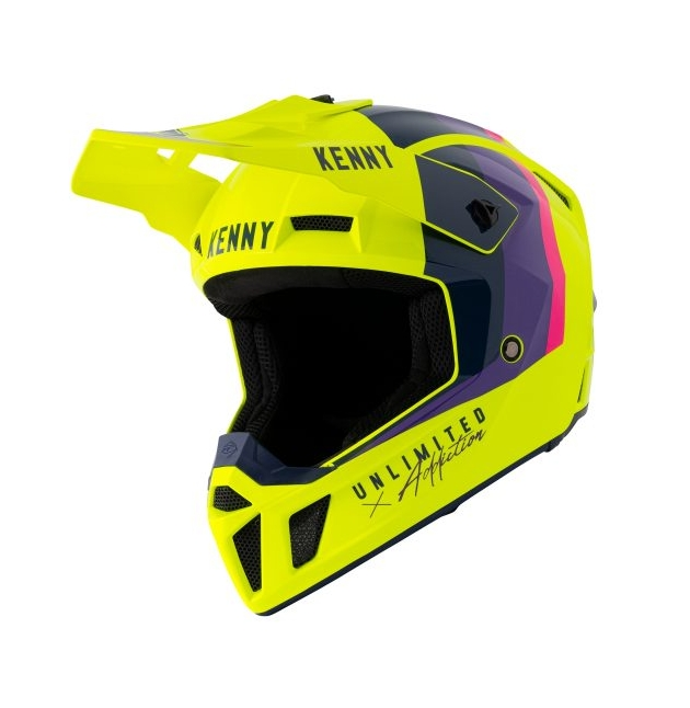 CASQUE KENNY PERFORMANCE NEON YELLOW 2021
