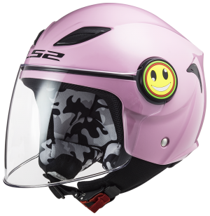 CASQUE ENFANT LS2 OF602 FUNNY ROSE