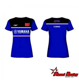 T-SHIRT YAMAHA RACING FEMME FABIO QUARTARARO 2021
