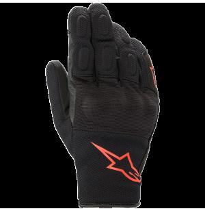 ALPINESTARS S MAX DRYSTAR GLOVES BLACK/RED