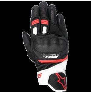 ALPINESTARS SP-5 GLOVES BLACK WHITE RED