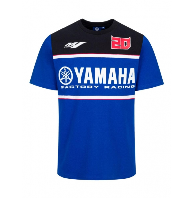 T-SHIRT YAMAHA RACING HOMME FABIO QUARTARARO 20 2021