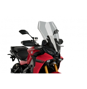 BULLE PUIG TOURING YAMAHA TRACER 9 FUMÉ CLAIRE