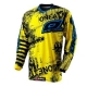 MAILLOT ELEMENT TOXIC BLACK/YELLOW T M
