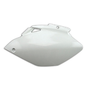 PLAQUES LATERALES YZF250-450 06-09 BLANC