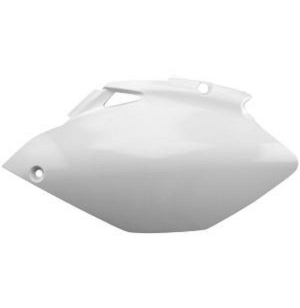 PLAQUES LATERALES YZF450 10-12 BLANC