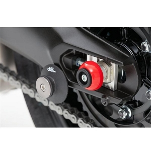 CRASH-BALLS KIT ARRIERE ROUGE MT09
