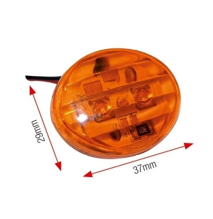 CLIGNOS OEIL LED PETIT ORANGE