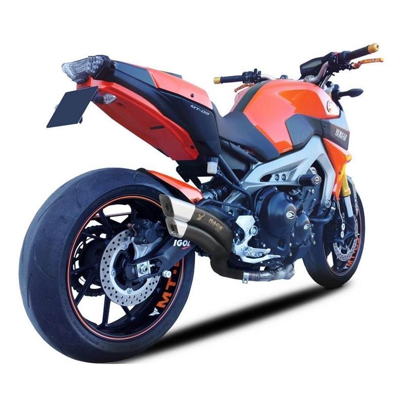 achat ligne ix race type z7 noir yamaha mt09 ix race planet racingfr. Black Bedroom Furniture Sets. Home Design Ideas