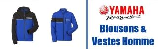 Blousons & Vestes Yamaha Homme