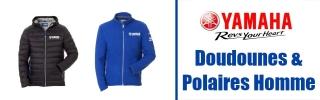 Doudounes & Polaires Yamaha Homme