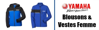 Blousons & Vestes Yamaha Femme