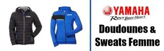 Doudounes & Sweats Yamaha Femme