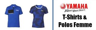 T-Shirts & Polos Yamaha Femme