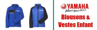 Blousons & Vestes Yamaha Enfant