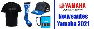 Nouveautés Sportswear et Produits Dérivés Yamaha 2021